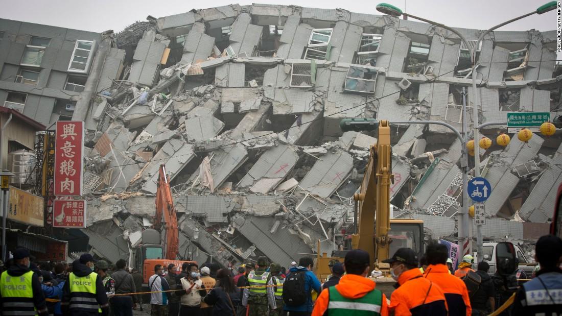 Earthquake Updates - Hualien, Taiwan